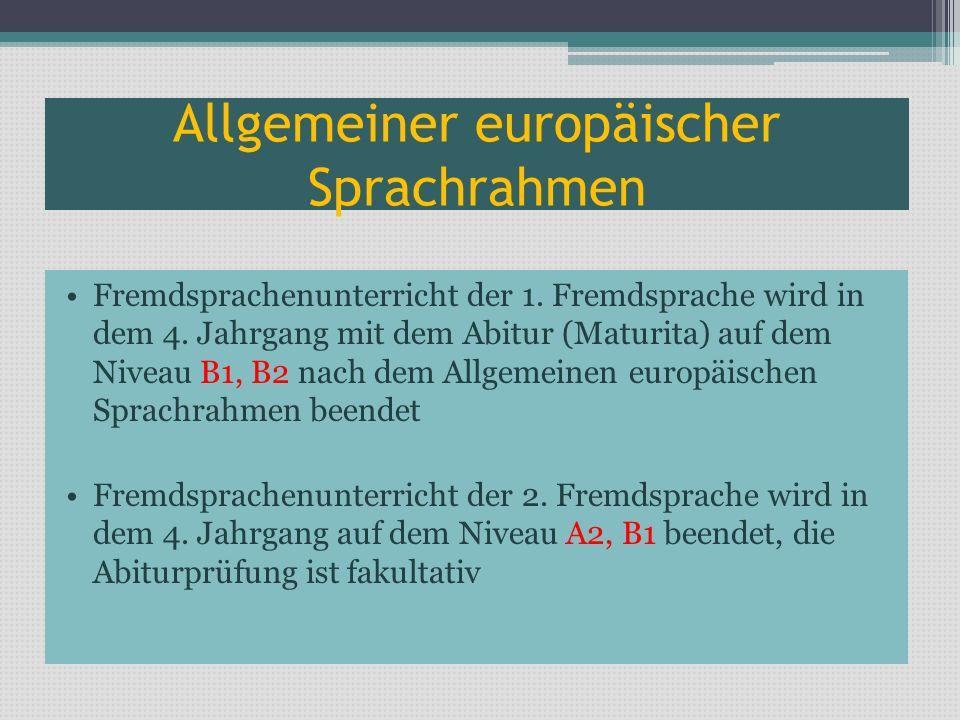 Allgemeiner europäischer Sprachrahmen
