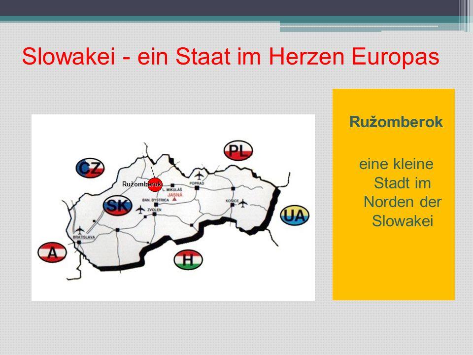 Slowakei - ein Staat im Herzen Europas