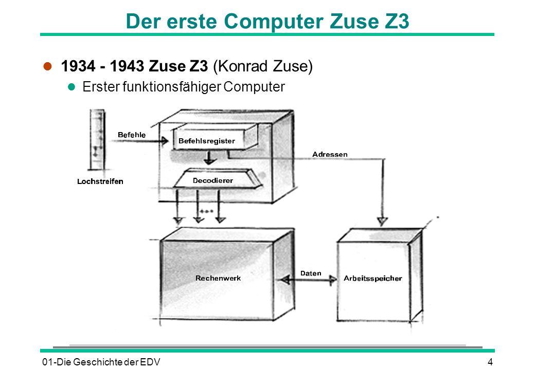 Der erste Computer Zuse Z3