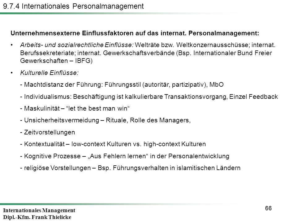 9.7.4 Internationales Personalmanagement