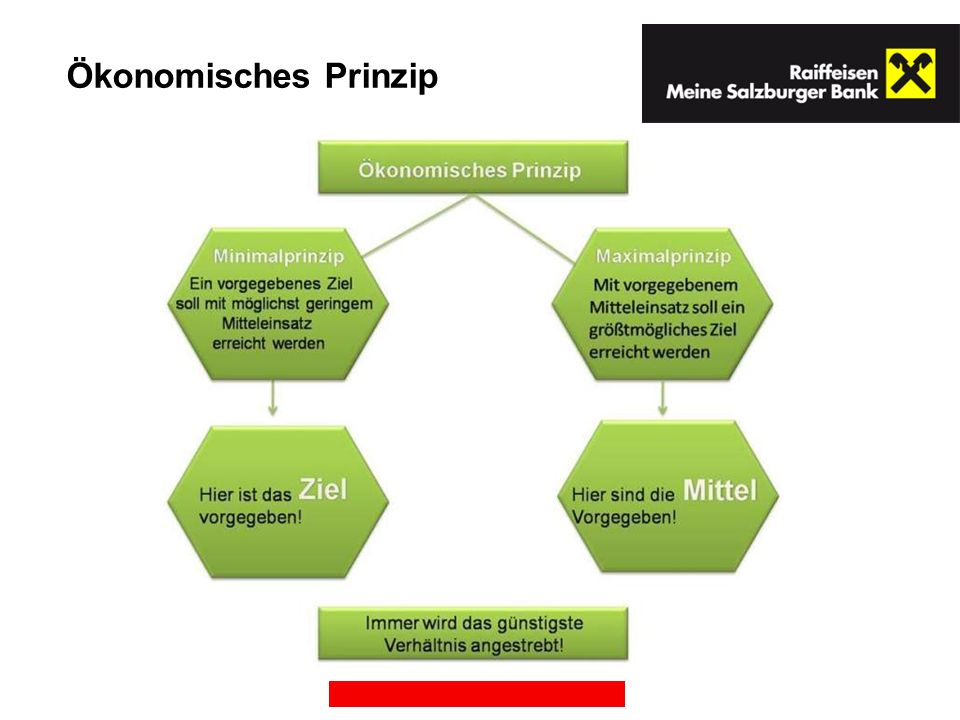 Ökonomisches Prinzip