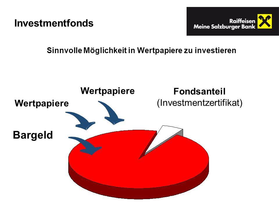 Sinnvolle Möglichkeit in Wertpapiere zu investieren