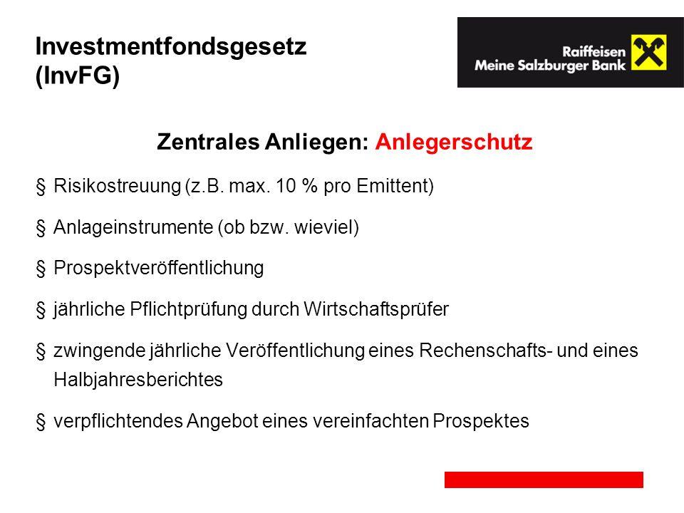 Investmentfondsgesetz (InvFG)