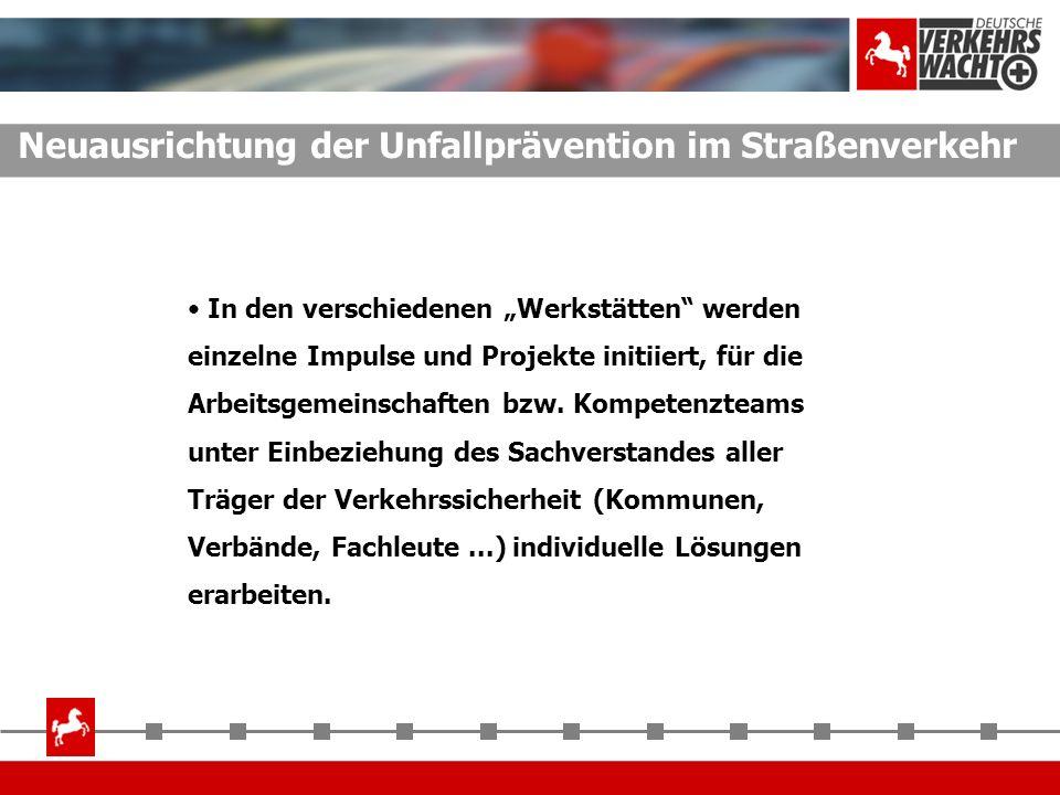 Neuausrichtung der Unfallprävention im Straßenverkehr