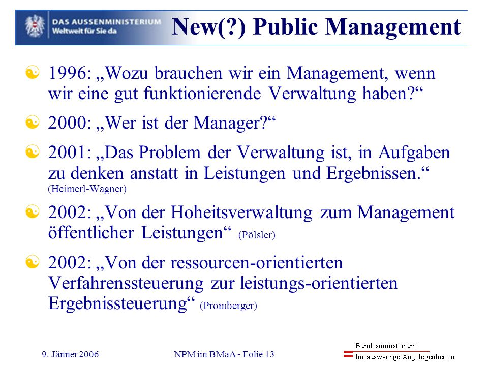 New( ) Public Management