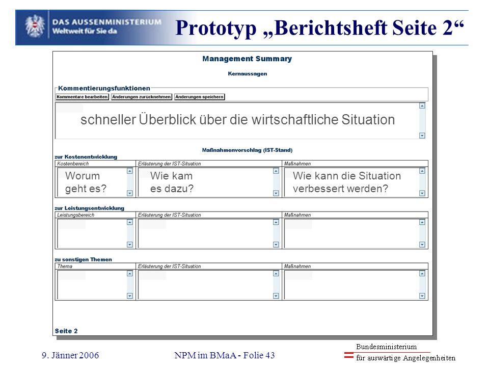 "Prototyp ""Berichtsheft Seite 2"