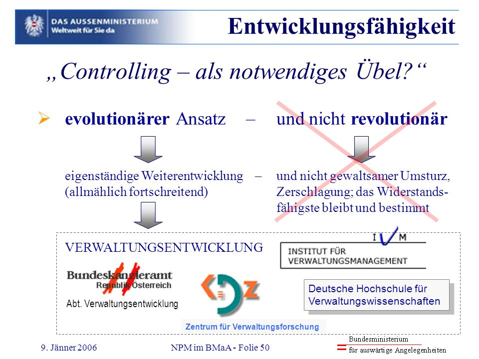 """Controlling – als notwendiges Übel"