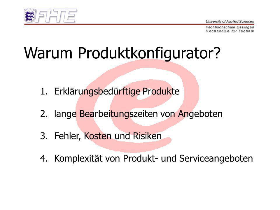 Warum Produktkonfigurator