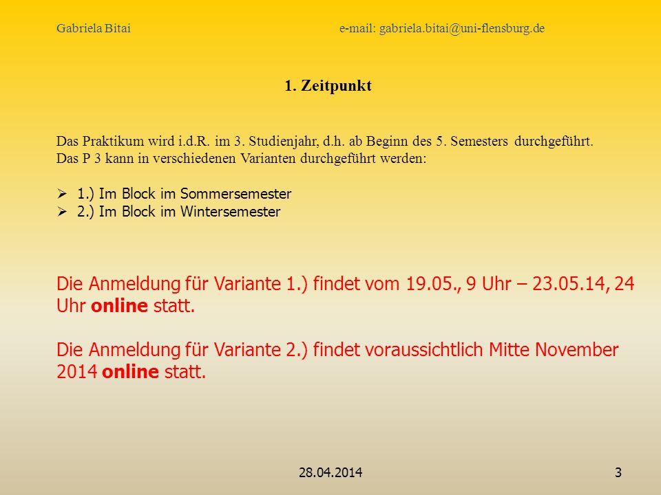 Gabriela Bitai e-mail: gabriela.bitai@uni-flensburg.de