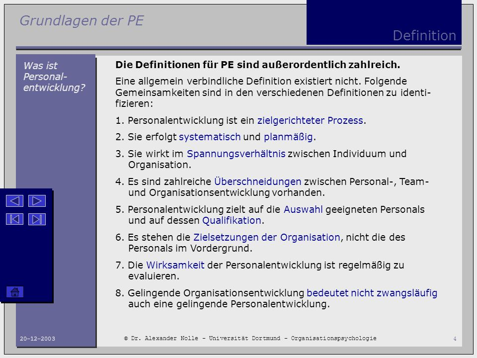 Definition Was ist Personal-entwicklung