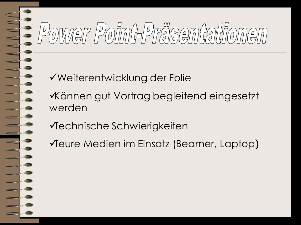 Power Point-Präsentationen