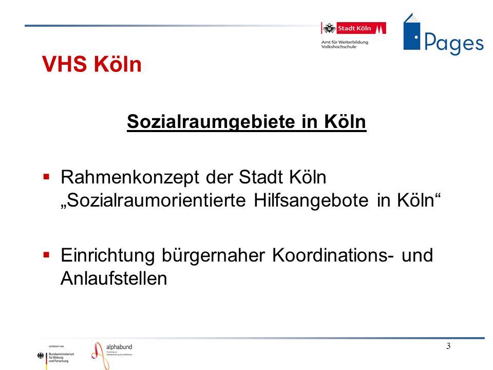 Sozialraumgebiete in Köln