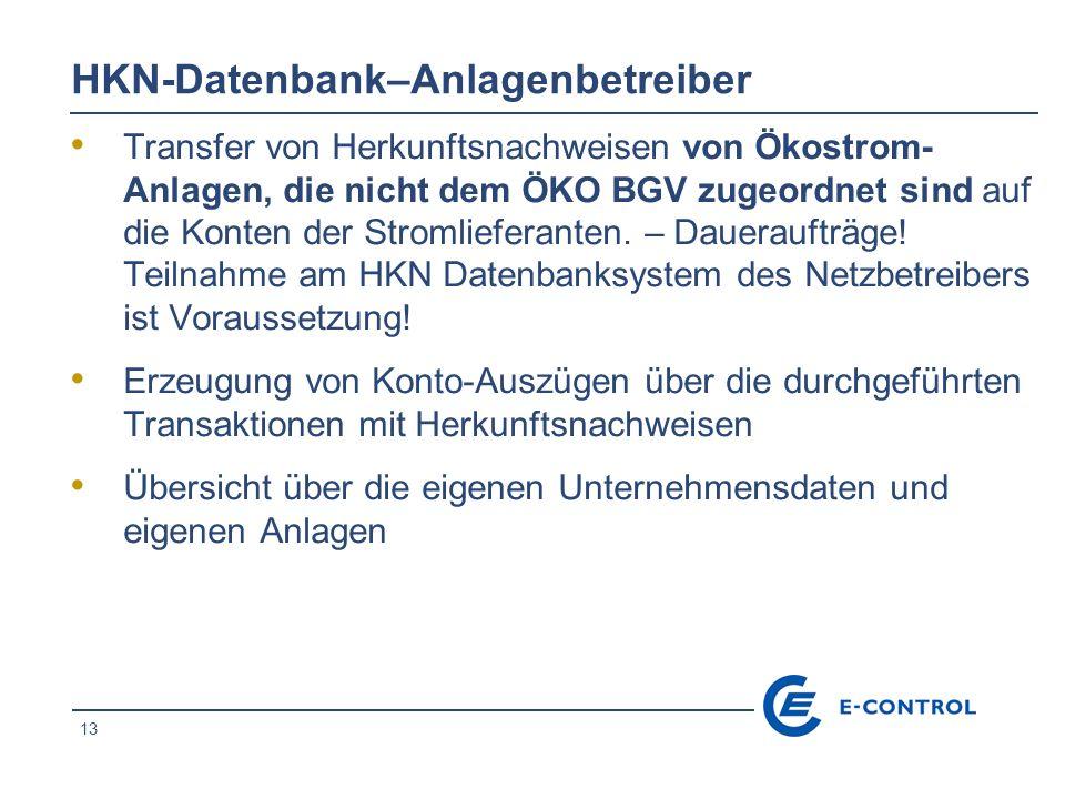 HKN-Datenbank–Anlagenbetreiber