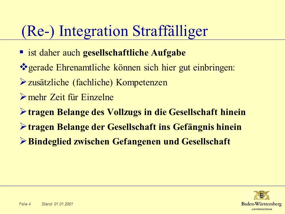 (Re-) Integration Straffälliger