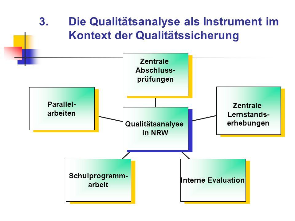 3. Die Qualitätsanalyse als Instrument im