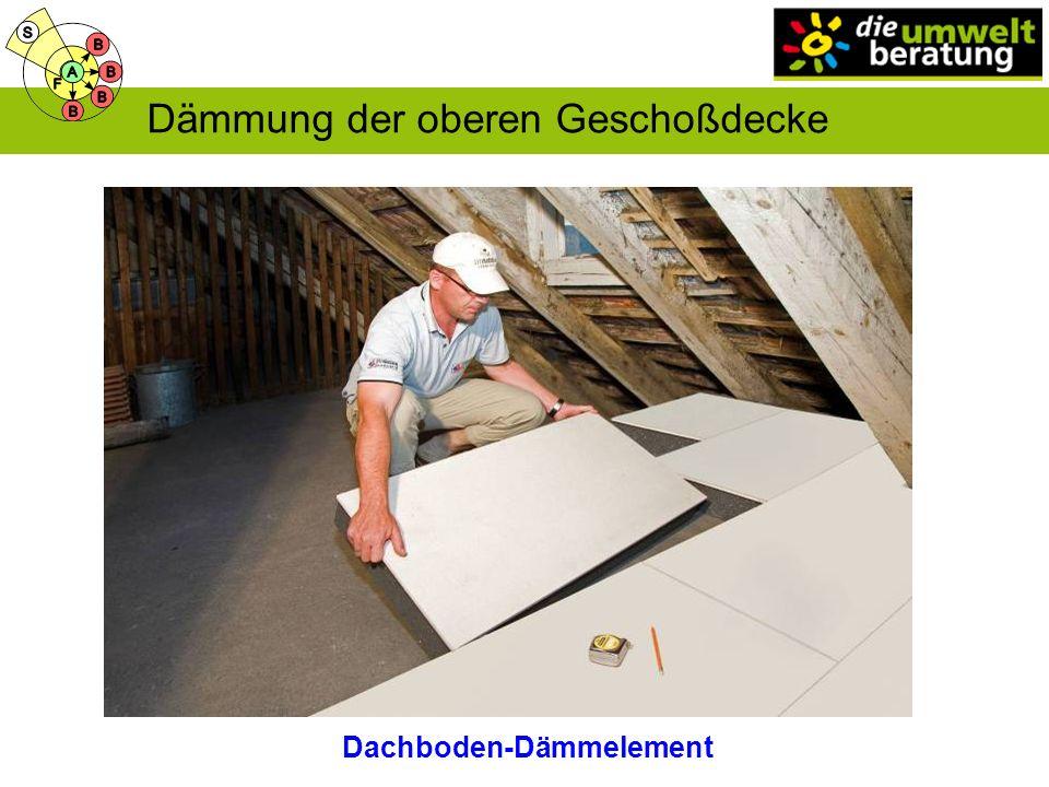 Dachboden-Dämmelement