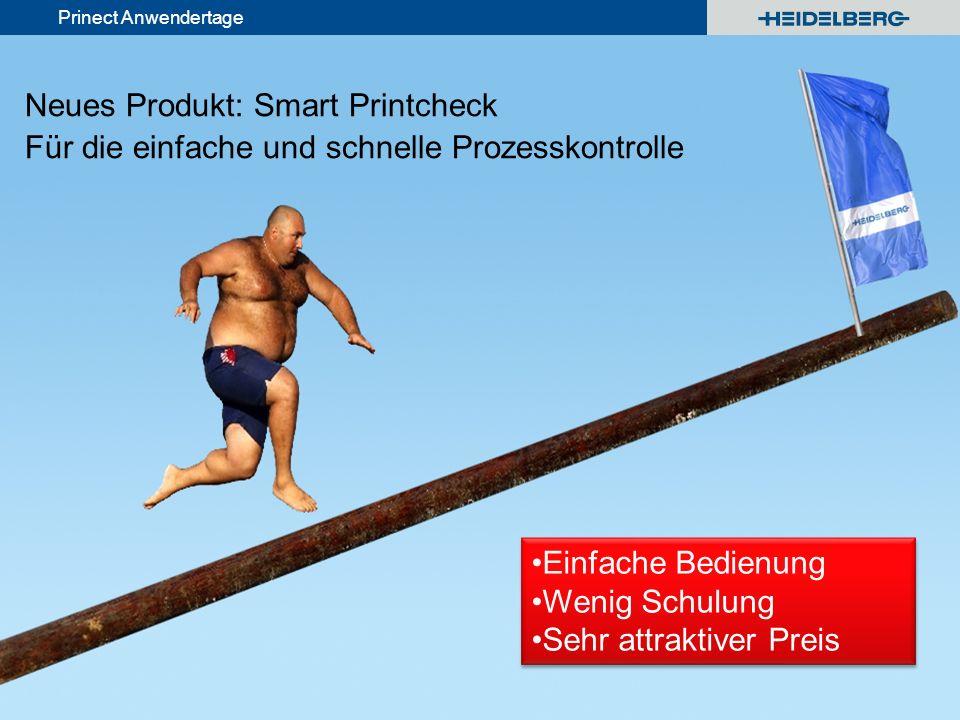 Neues Produkt: Smart Printcheck Für die einfache und schnelle Prozesskontrolle