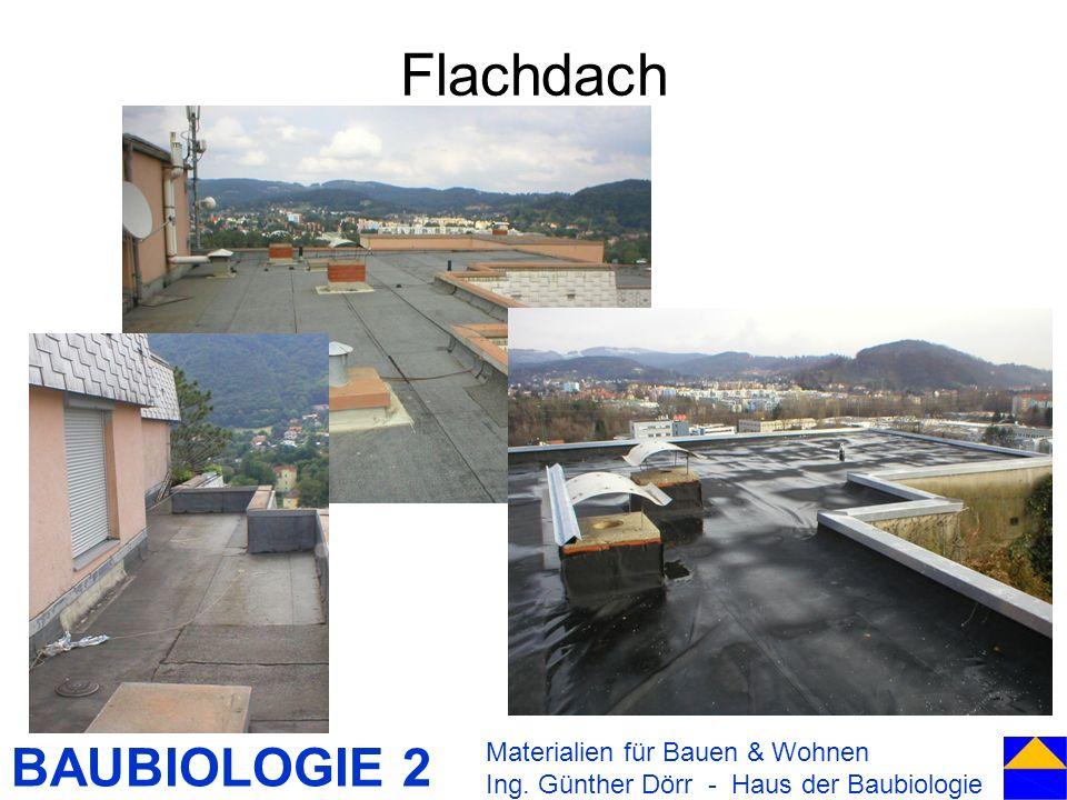 Flachdach Materialien für Bauen & Wohnen