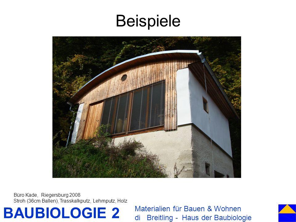 Beispiele Materialien für Bauen & Wohnen