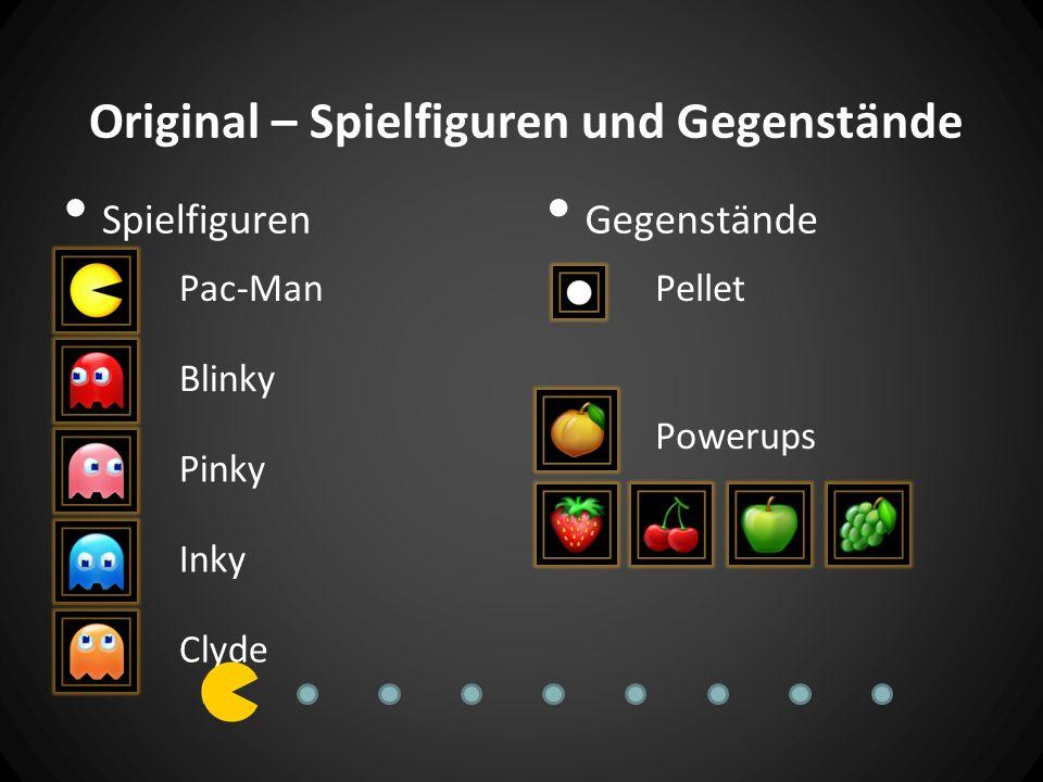 Original – Spielfiguren und Gegenstände