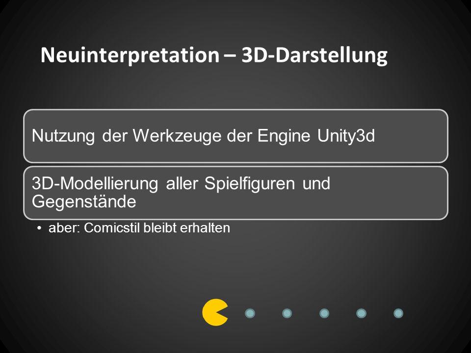 Neuinterpretation – 3D-Darstellung