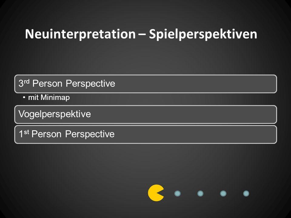 Neuinterpretation – Spielperspektiven