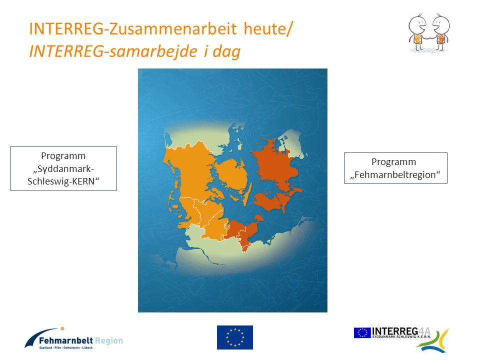INTERREG-Zusammenarbeit heute/ INTERREG-samarbejde i dag