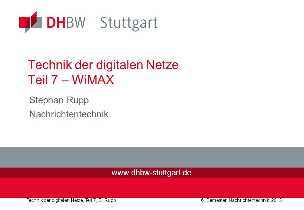 Technik der digitalen Netze Teil 7 – WiMAX