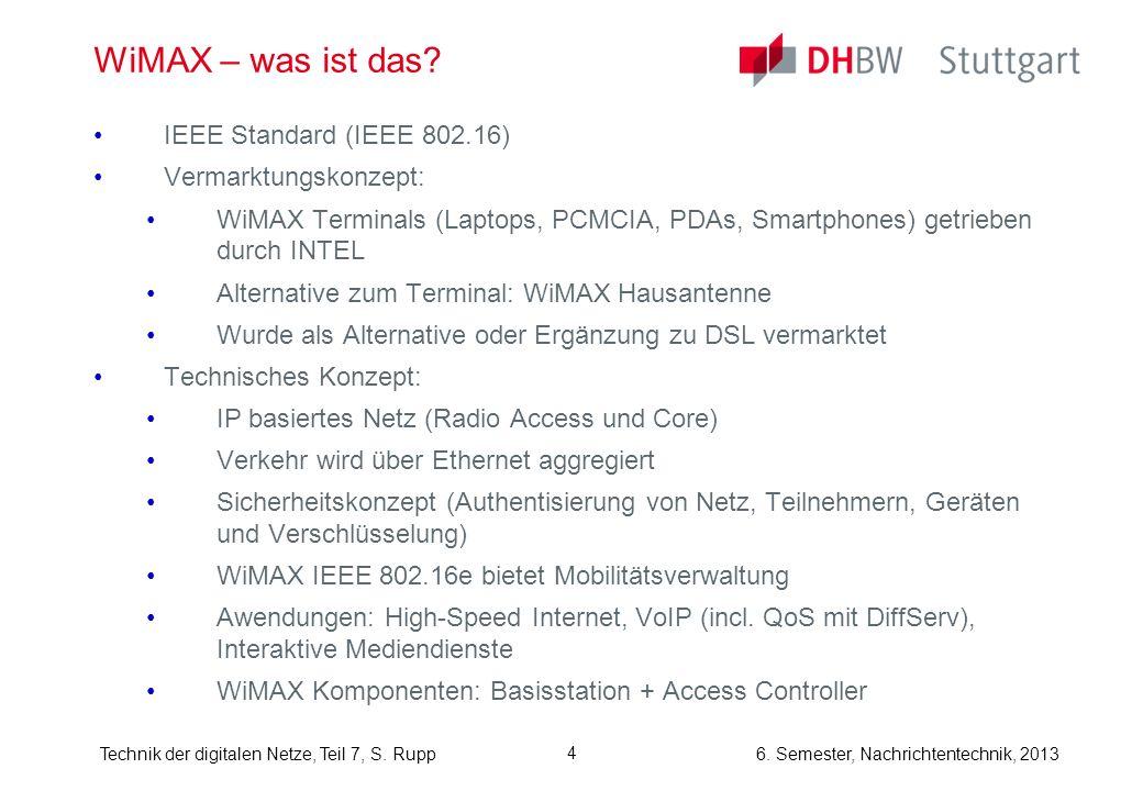 WiMAX – was ist das IEEE Standard (IEEE 802.16) Vermarktungskonzept: