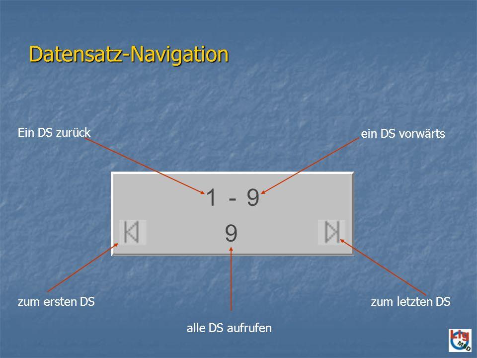 Datensatz-Navigation