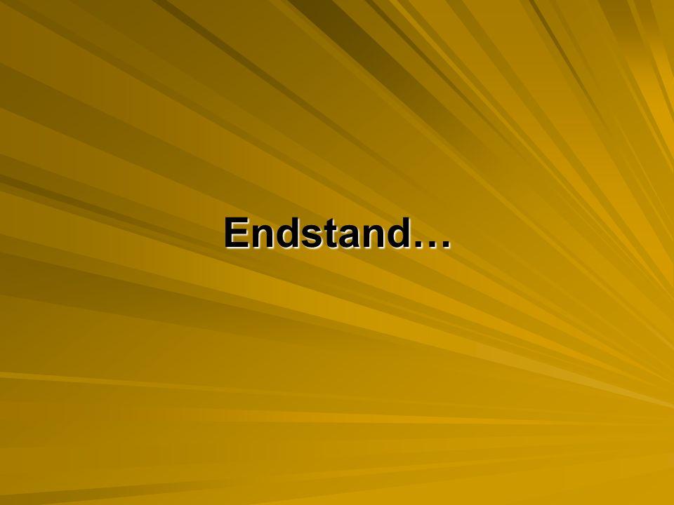 Endstand…