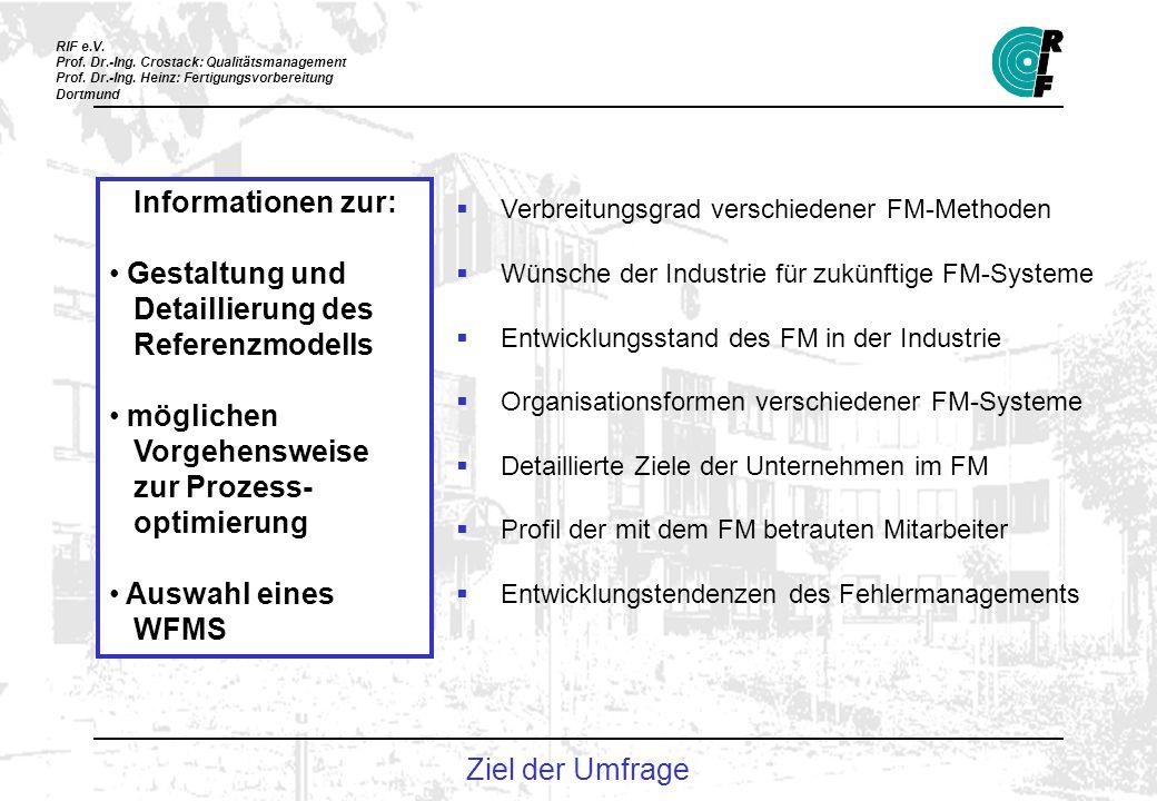 Informationen zur: Gestaltung und Detaillierung des Referenzmodells