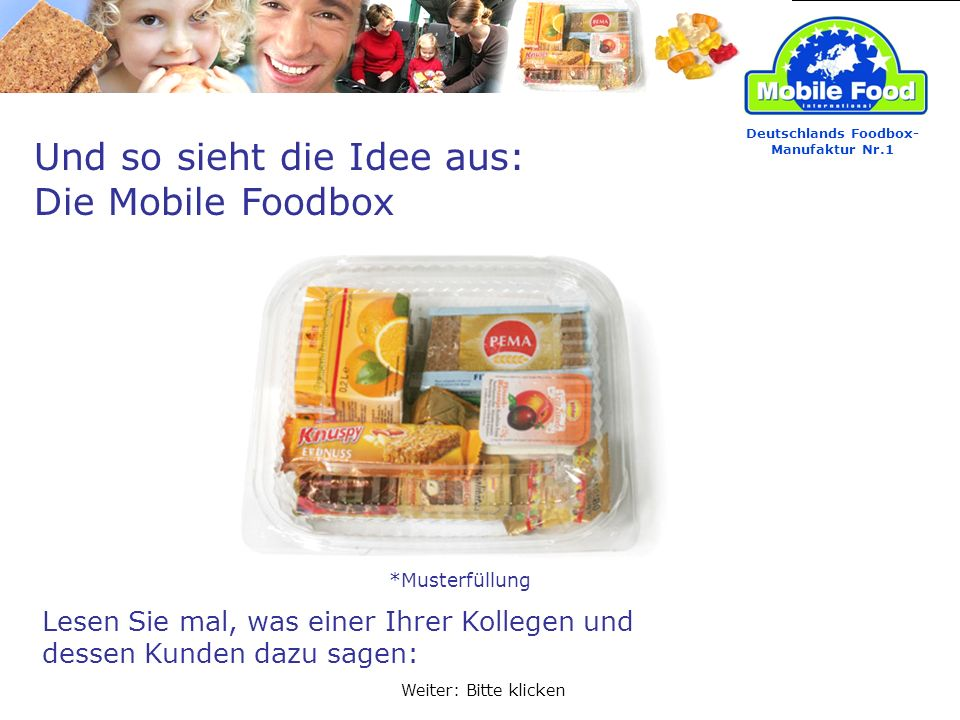 Deutschlands Foodbox-Manufaktur Nr.1