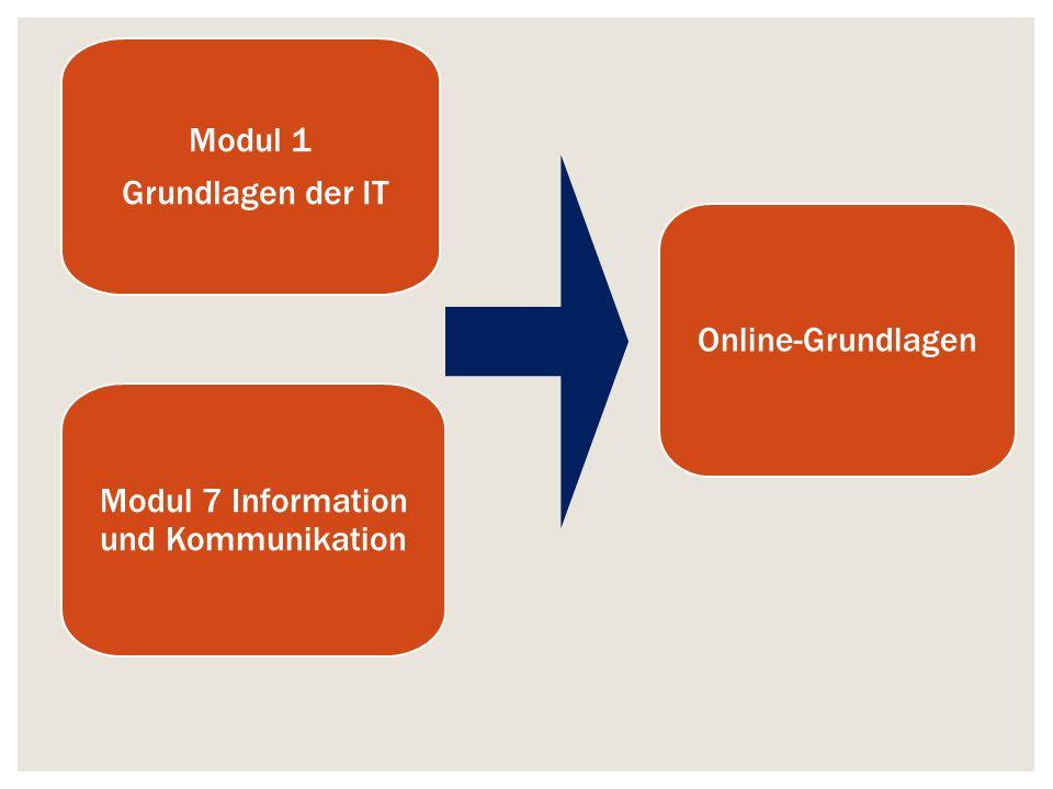 Modul 7 Information und Kommunikation