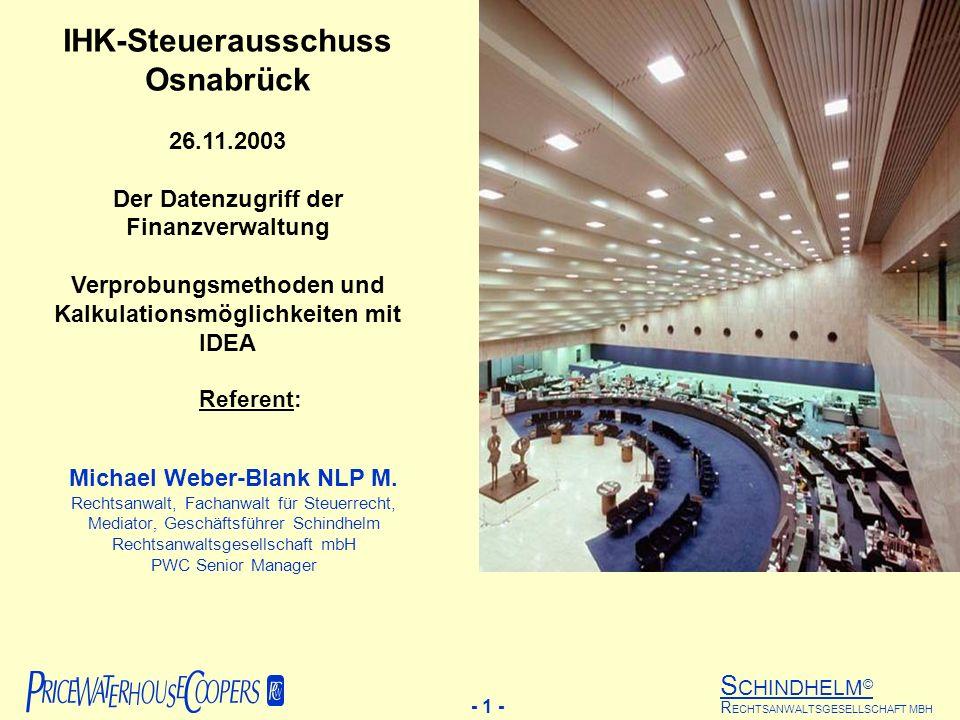IHK-Steuerausschuss Osnabrück