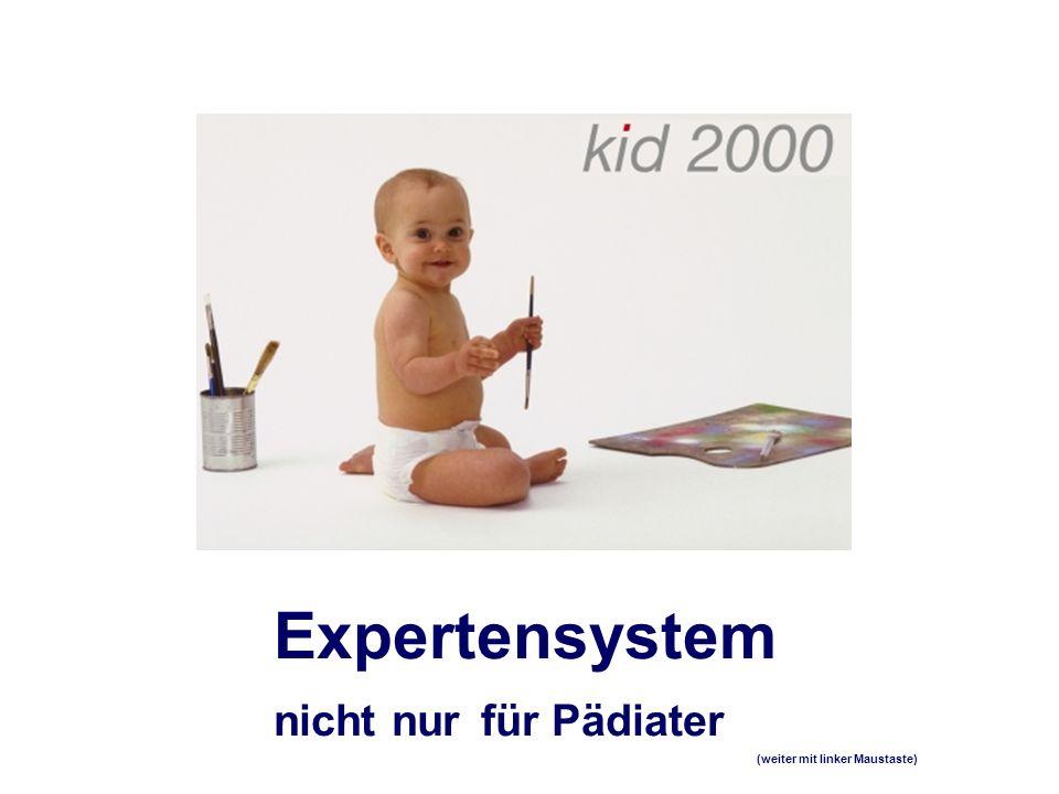Expertensystem nicht nur für Pädiater