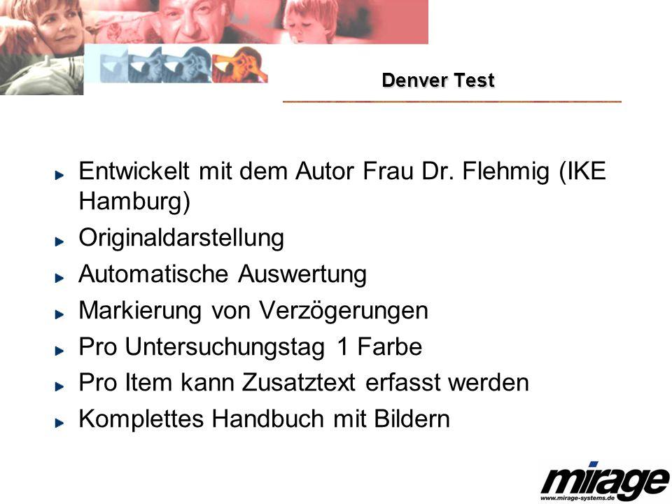 Entwickelt mit dem Autor Frau Dr. Flehmig (IKE Hamburg)