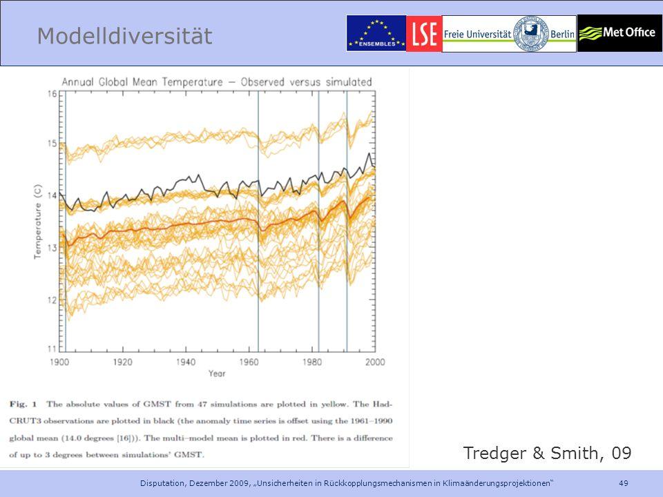 Modelldiversität Tredger & Smith, 09