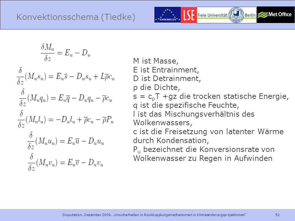 Konvektionsschema (Tiedke)