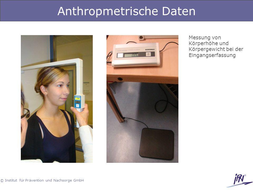 Anthropmetrische Daten