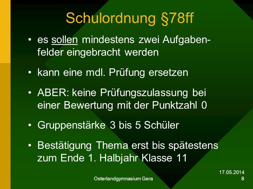 Osterlandgymnasium Gera