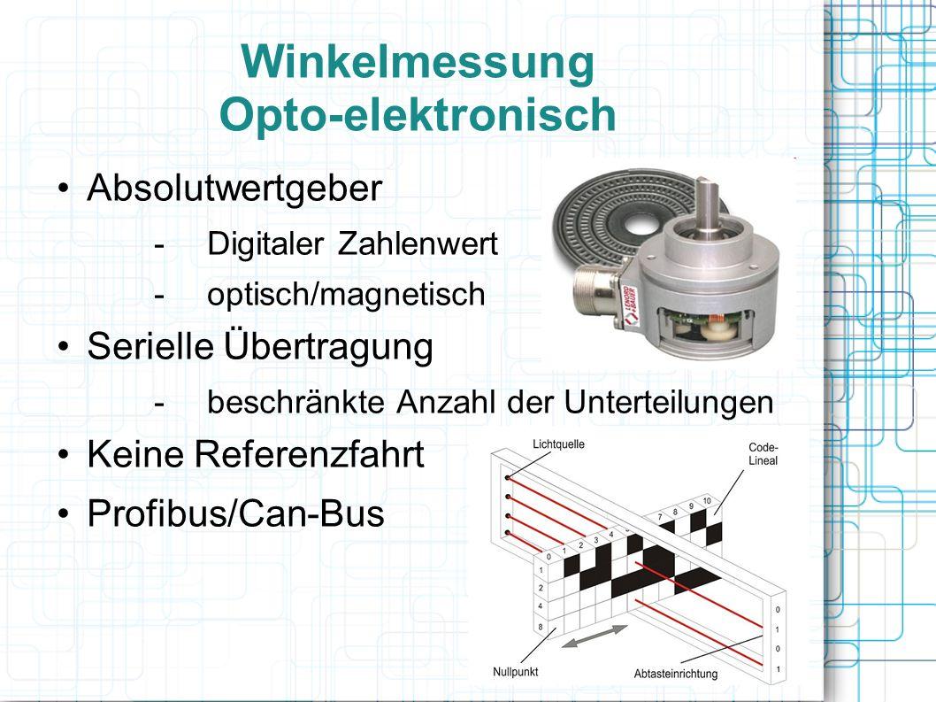 Winkelmessung Opto-elektronisch