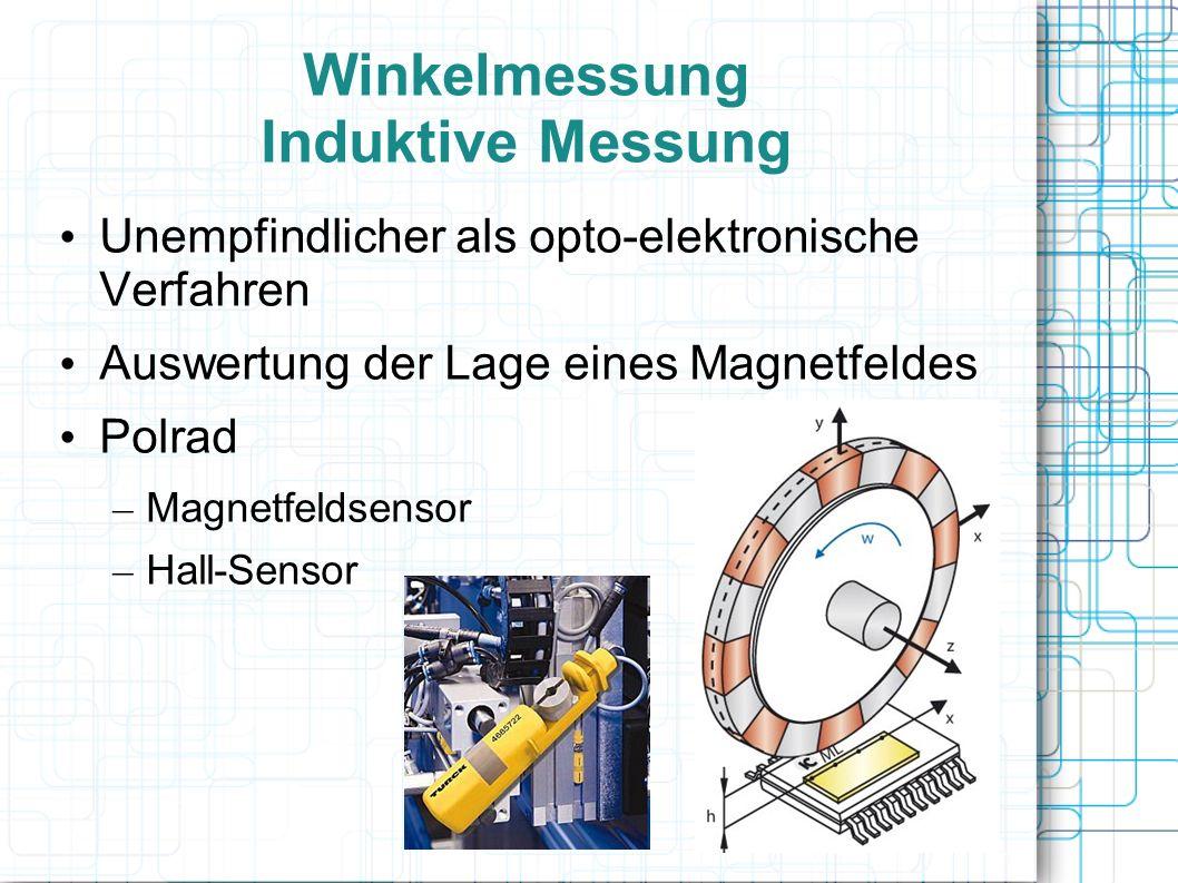 Winkelmessung Induktive Messung