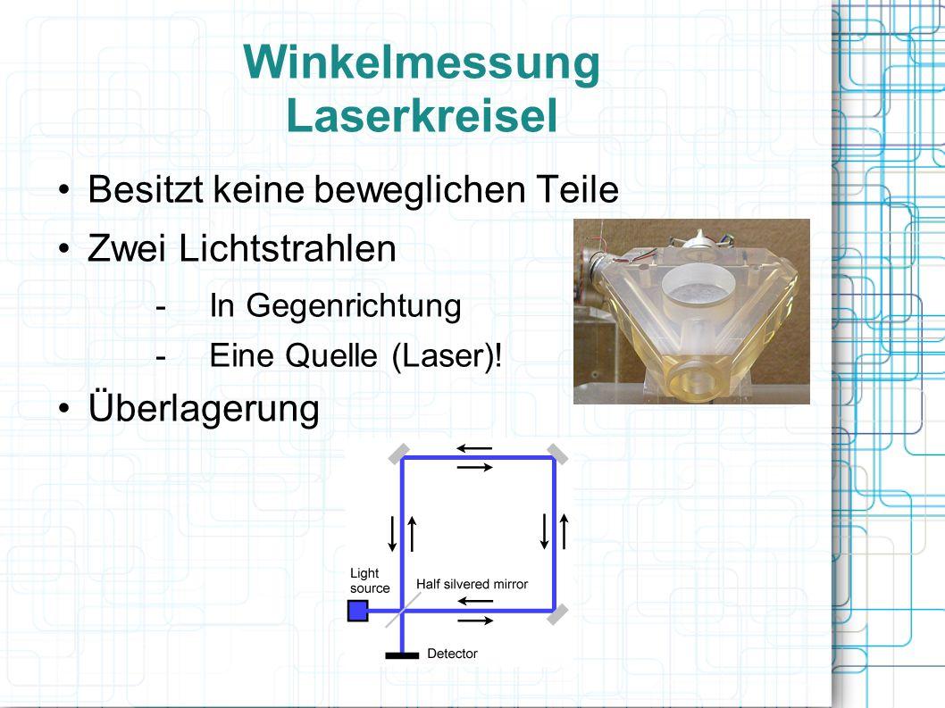 Winkelmessung Laserkreisel