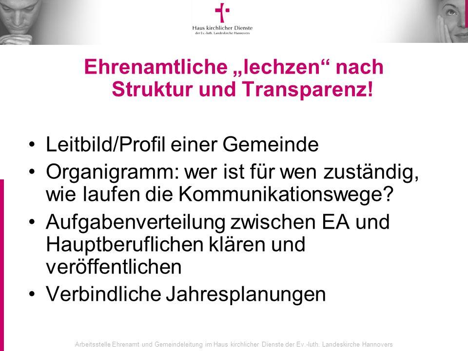 """Ehrenamtliche """"lechzen nach Struktur und Transparenz!"""