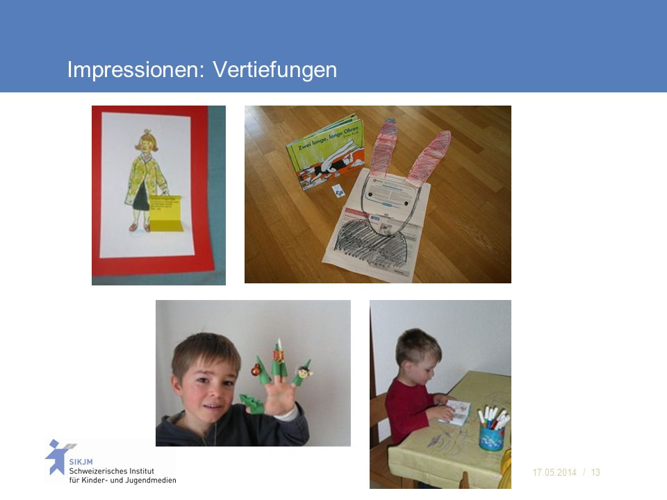 Impressionen: Vertiefungen