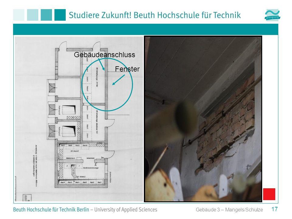 Aufstellungsplan der Transformatoren für Anbau 2 Gebäudeanschluss