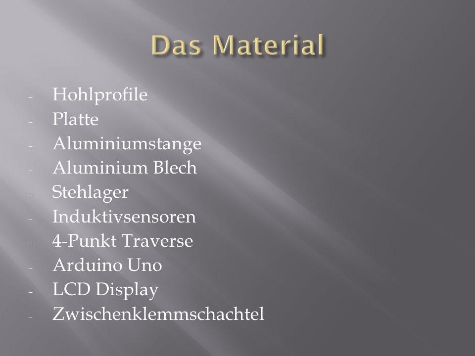 Das Material Hohlprofile Platte Aluminiumstange Aluminium Blech