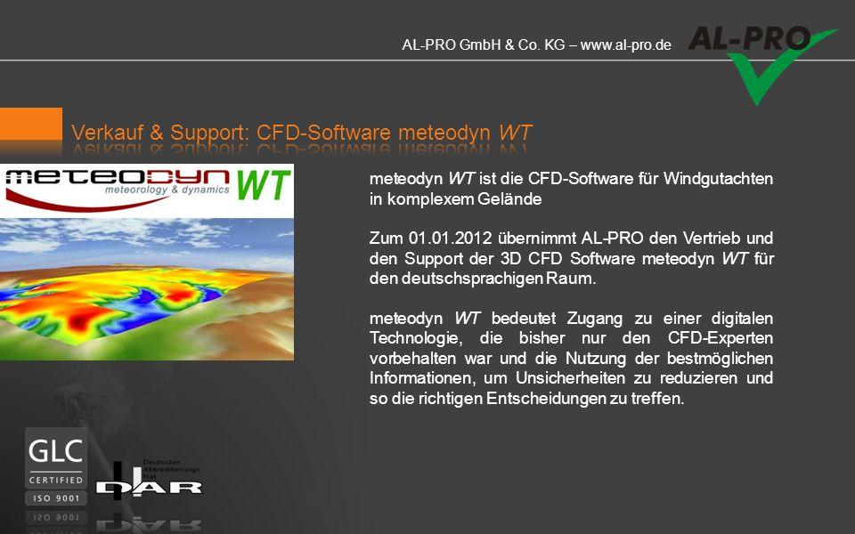Verkauf & Support: CFD-Software meteodyn WT