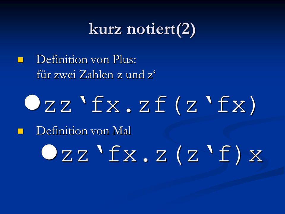 lzz'fx.zf(z'fx) kurz notiert(2)